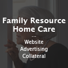 Family Resource Home Care - Website, advertising, collateral